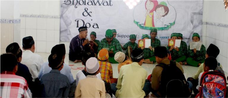 Doa dan Sholawat Sahabat Yatim Sidoarjo