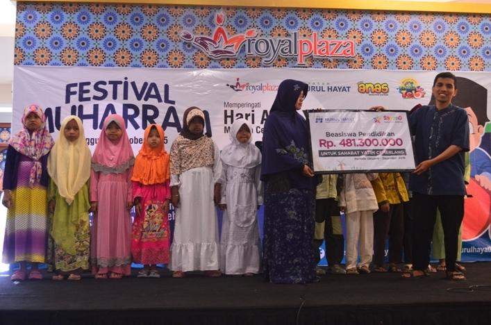 Yayasan Nurul Hayat Berbagi Kebahagian di Hari Anak Yatim Nasional