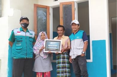 165 Juta untuk Program Bedah Rumah Lansia Dhuafa
