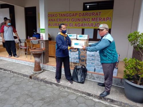 Merapi Berstatus Siaga, NH Zakat Kita Salurkan Bantuan Logistik
