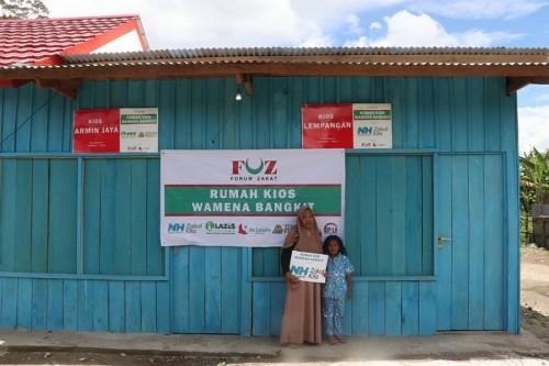 Rumah Kios Wamena Telah Rampung Dibangun Pasca Konflik Sosial 2019