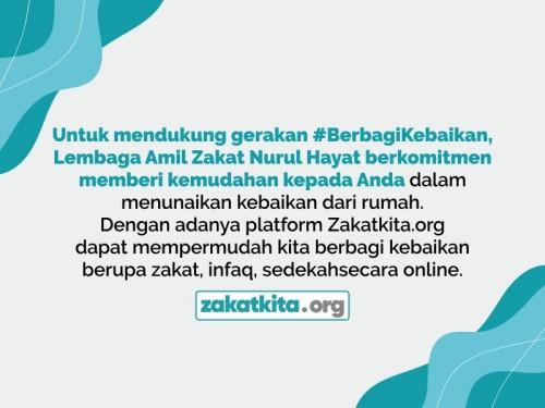 Berbagi kebaikan di Zakatkita.org