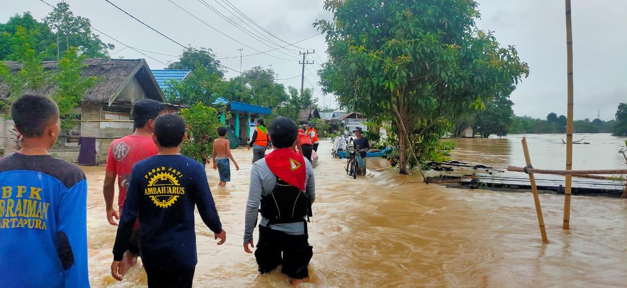 SIGAB Nurul Hayat Respon Bencana Banjir Kalimantan Selatan