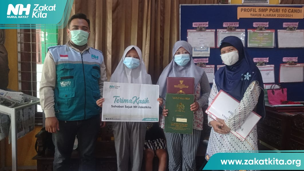 NH Sidoarjo Bantu Pendidikan Pelajar Dhuafa Yatim Piatu