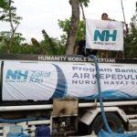 NH Solo Bantu Droping Air di Mondokan Sragen