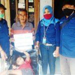Bantuan Kursi Roda untuk Nengsi Penyandang Difabel