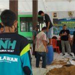 NH Zakatkita Bojonegoro Beri Pelatihan Pembuatan Pakan Ternak