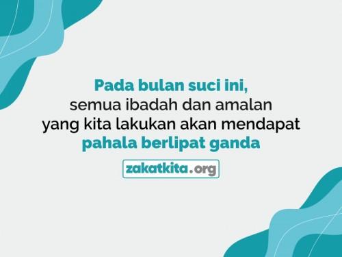 Berlomba Kebaikan Pada Bulan Ramadhan