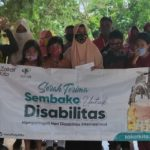 Zakat Kita Kirim Sembako di Hari Disabilitas Nasional