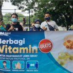 Nurul Hayat Berbagi Vitamin untuk Masyarakat Banyuwangi