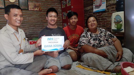Bantu Biaya Kontrakan Bunda Yatim Asal Semarang