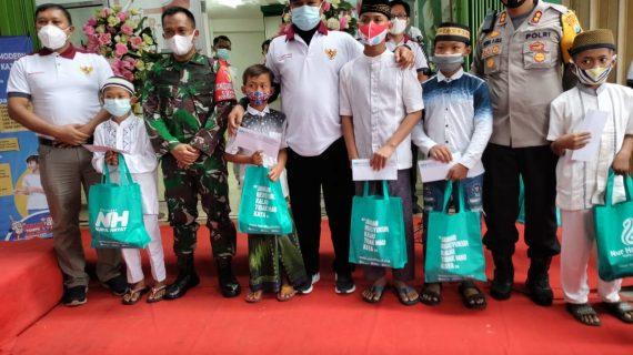 Bersama Rumah Sunat Modern, NH Zakatkita Madiun Gelar Khitan Gratis Yatim-Dhuafa