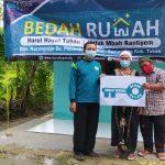 Tasyakuran Serah Terima Program Bedah Rumah Mbah Rantiyem