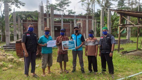 Bantuan Masjid Baitul Alam Donomulyo Masuk Tahap Pertama