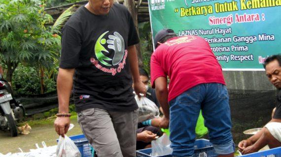 Belajar Berzakat Bersama Kelompok Pemberdaya Ikan Ngawi