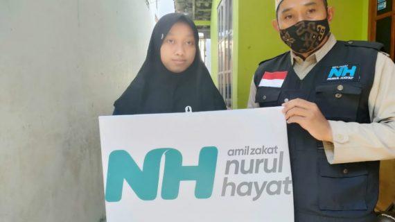 Berkomitmen Mencerdaskan Anak Bangsa, NH Zakatkita Bantu Biaya Pendidikan Dhuafa