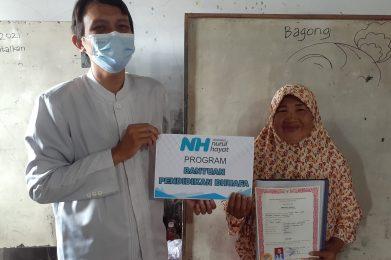 Nurul Hayat bantu dana pendidikan unuk yatim dhuafa